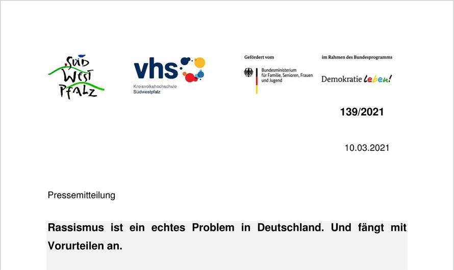 Rassismus ist ein echtes Problem in Deutschland. Und fängt mit Vorurteilen an.